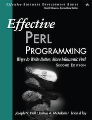 Effective Programming Perl book cover